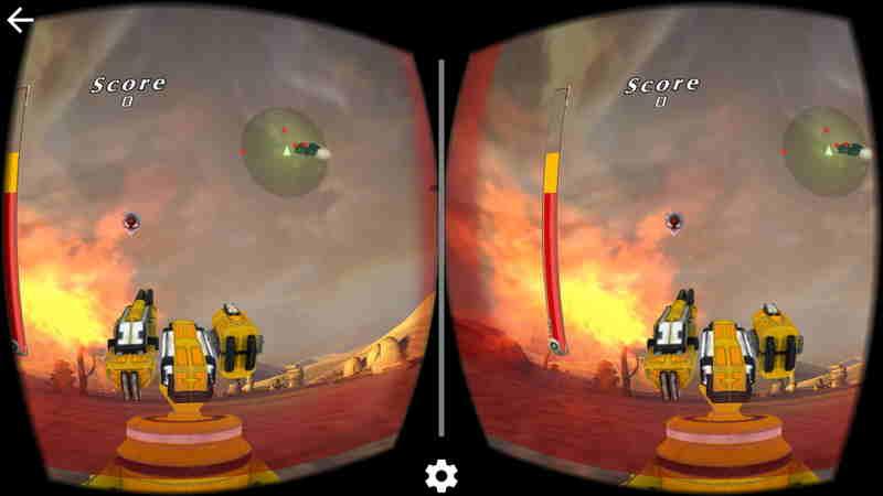 VR大炮台游戏截图