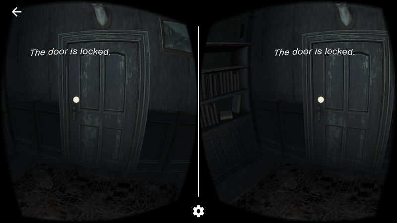 Haunted Rooms VR游戏 锁着的门