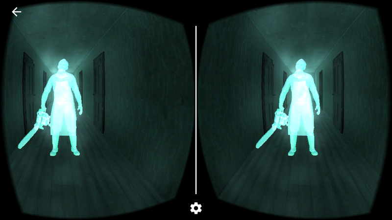 Haunted Rooms VR 拿着电锯的男人