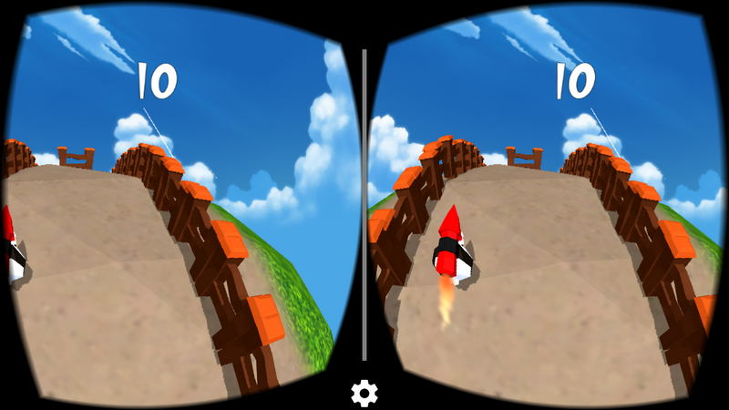 RocketSheep VR 游戏界面
