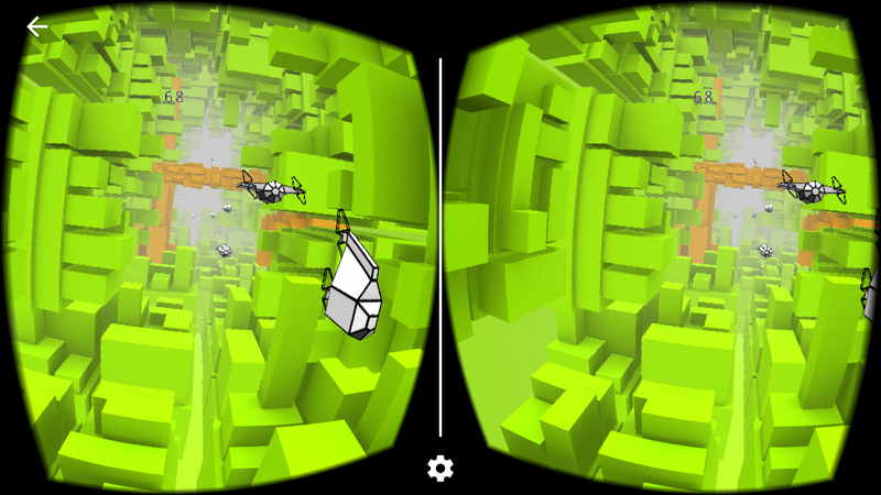 VoxelFly 游戏界面