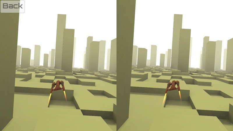 VR X-Racer 游戏界面
